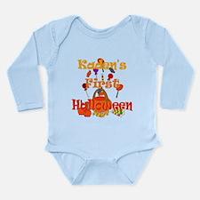 First Halloween Kaden Long Sleeve Infant Bodysuit