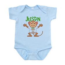 Little Monkey Justin Infant Bodysuit