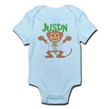 Little Monkey Justin Onesie