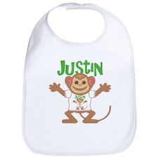 Little Monkey Justin Bib