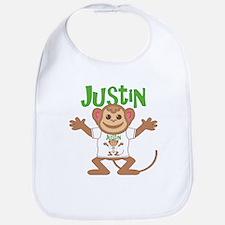 Little Monkey Justin Bib