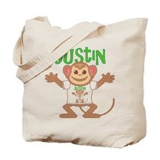 Little Monkey Justin Tote Bag