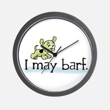 I may barf Wall Clock