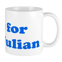 Baby Blocks Julian Mug