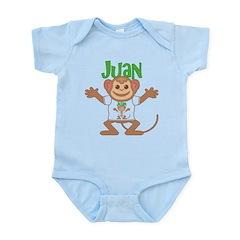 Little Monkey Juan Infant Bodysuit