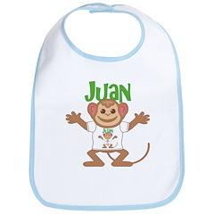 Little Monkey Juan Bib