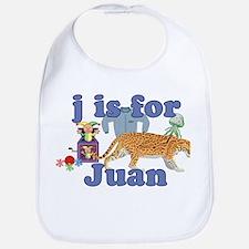 J is for Juan Bib
