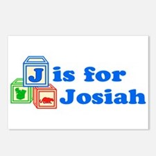 Baby Blocks Josiah Postcards (Package of 8)