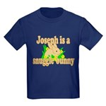 Joseph is a Snuggle Bunny Kids Dark T-Shirt