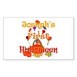 First Halloween Joseph Sticker (Rectangle)