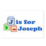 Baby Blocks Joseph Postcards (Package of 8)
