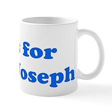Baby Blocks Joseph Mug