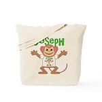 Little Monkey Joseph Tote Bag