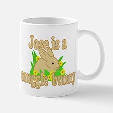Jose is a Snuggle Bunny Mug