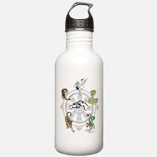 Martial Animal Styles Water Bottle