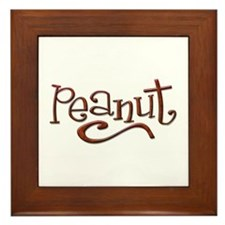 Peanut Framed Tile