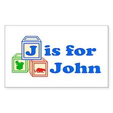 Baby Blocks John Decal