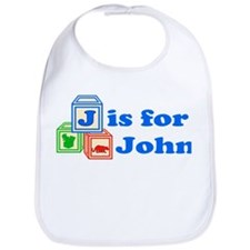 Baby Blocks John Bib