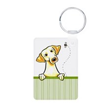 Yellow Lab Bee Nice Keychains