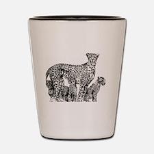 Cute Animal families Shot Glass