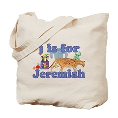 J is for Jeremiah Tote Bag