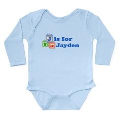 Baby Blocks Jayden Long Sleeve Infant Bodysuit
