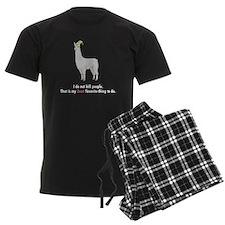 Least Favorite Thing pajamas