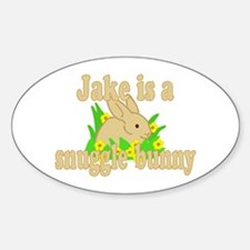 Jake is a Snuggle Bunny Decal