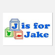 Baby Blocks Jake Postcards (Package of 8)