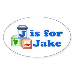 Baby Blocks Jake Decal