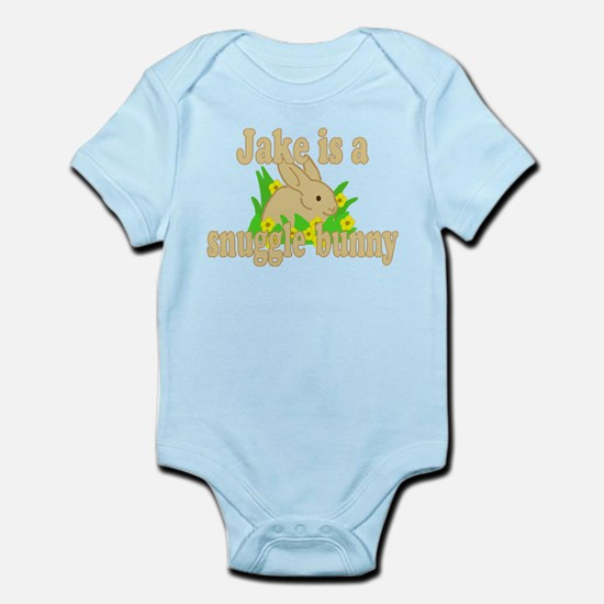 Jake is a Snuggle Bunny Infant Bodysuit