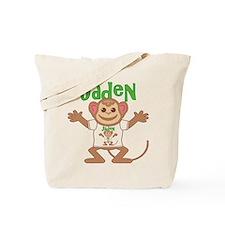 Little Monkey Jaden Tote Bag