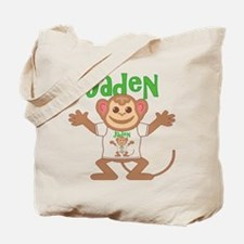 Little Monkey Jaden Tote Bag