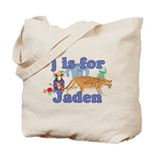 J is for Jaden Tote Bag