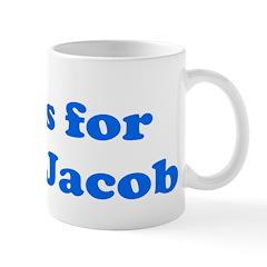 Baby Blocks Jacob Mug