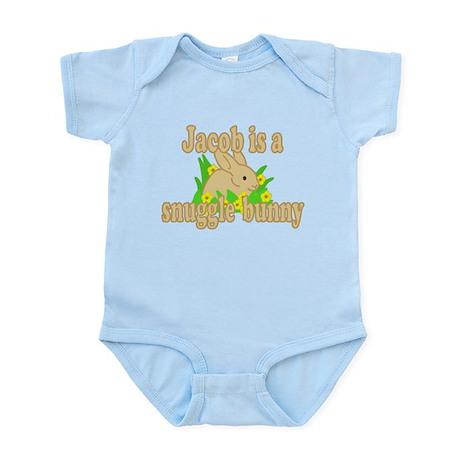 Jacob is a Snuggle Bunny Infant Bodysuit