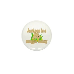 Jackson is a Snuggle Bunny Mini Button (10 pack)