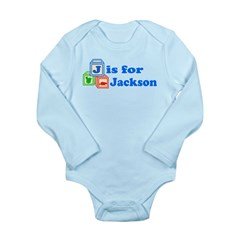 Baby Blocks Jackson Long Sleeve Infant Bodysuit