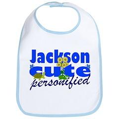 Cute Jackson Bib