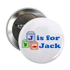 "Baby Blocks Jack 2.25"" Button"