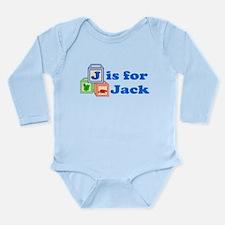 Baby Blocks Jack Long Sleeve Infant Bodysuit