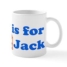 Baby Blocks Jack Mug