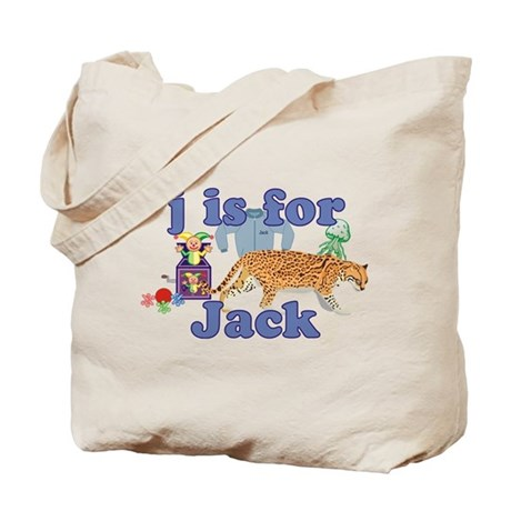 J is for Jack Tote Bag