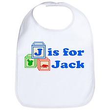 Baby Name Blocks - Jack Bib