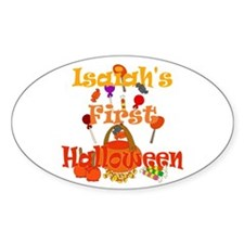 First Halloween Isaiah Decal