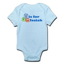 Baby Name Blocks - Isaiah Infant Bodysuit