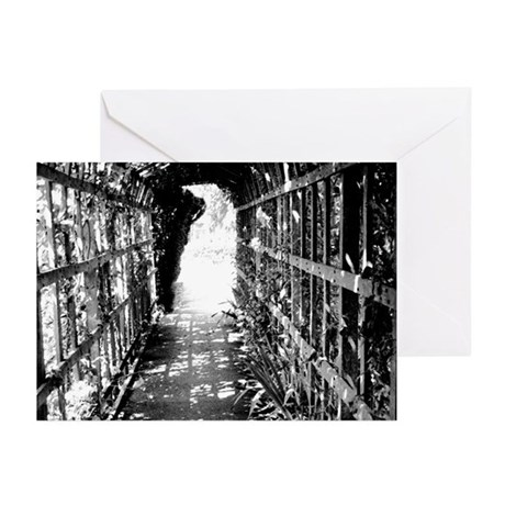 Lattice Tunnel Greeting Cards (Pk of 10)