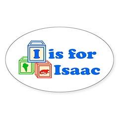 Baby Blocks Isaac Decal
