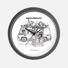 """""""What Privacy"""" Wall Clock"""
