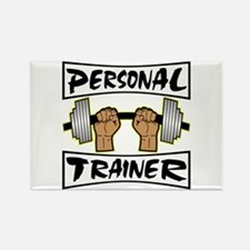 Personal Trainer Rectangle Magnet
